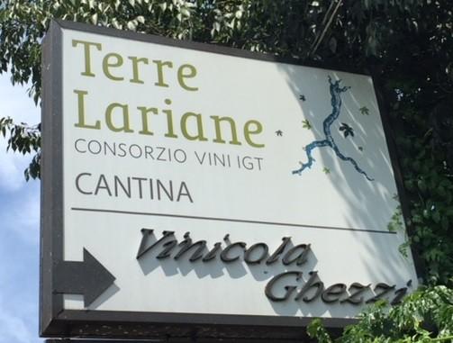 La cantina di vinificazione della IGT Terre Lariane